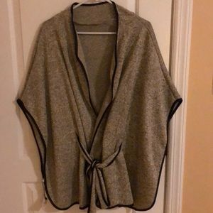 Poncho - casual or professional